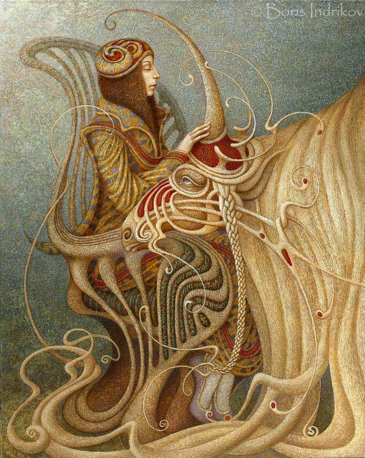Dream of the Unicorn - Boris Indrikoff