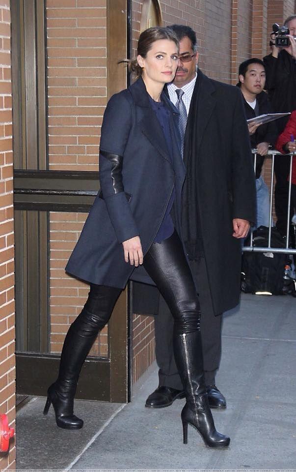 Stana Katic, November 10, 2014, New York