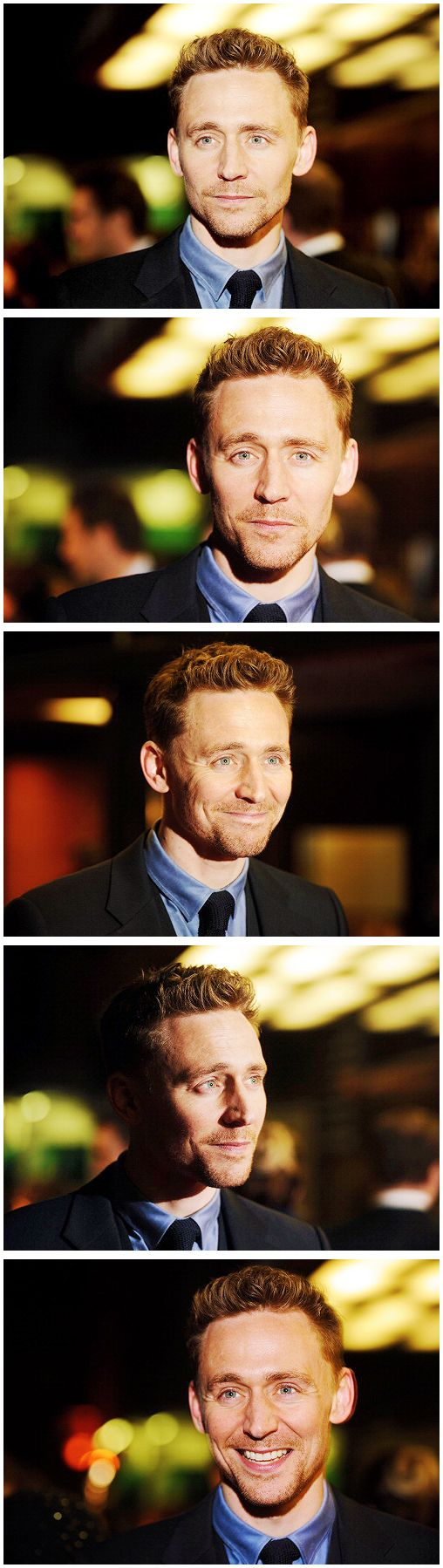 Tom! You're too adorably handsome. You have to stop because it's interfering with my sleep and my work and my study.