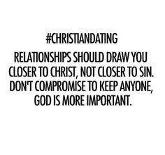 Is dating a sin to god
