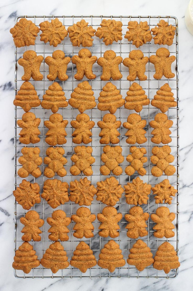 Gingerbread Spritz Cookies Are Buttery And Spiced With Classic