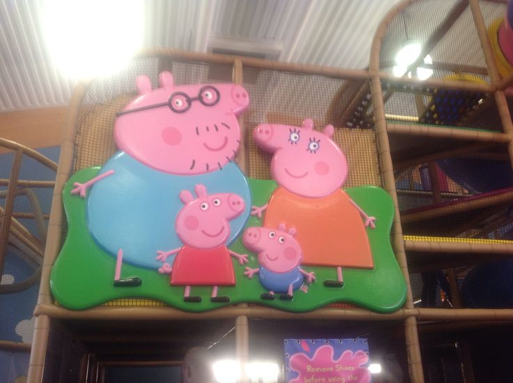 I went to pepper pig world for tazmin We left to go to pepper pig world