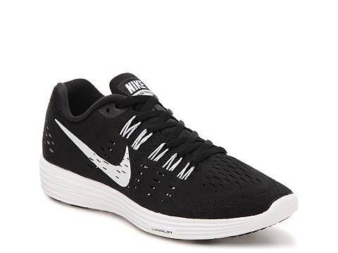 Nike Lunar Tempo Lightweight Running Shoe mesh black/white sz7.5 89.94 1/16