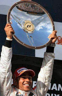 Piloto Lewis Hamilton, McLaren Mercedes, Australia 2008