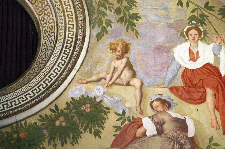 Pontormo, lunetta di vertumno e pomona, 1519-21, 17.JPG