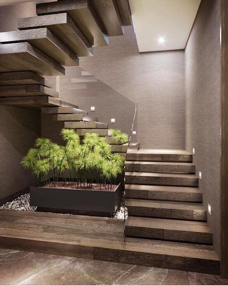 Separacion De Escalones Escaleras Para Casas Pequenas Diseno De Escaleras Interiores Diseno Casas Modernas
