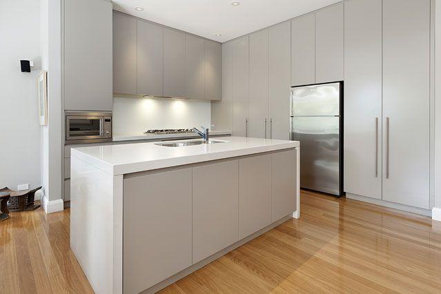 #sleek #kitchens modern with wooden flooring - Bondi House