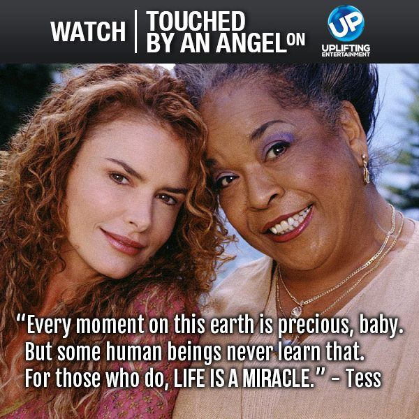"Remember the TV Program ""Touched By An Angel"" via Tess."