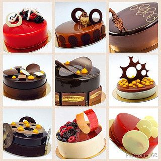 Entremet that  we made for my hands on class @sweetobsessionbkk #bachour #bachourinbangkok #valrhona