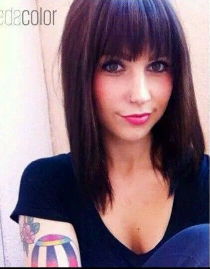 best 25 bangs medium hair ideas only on pinterest hair
