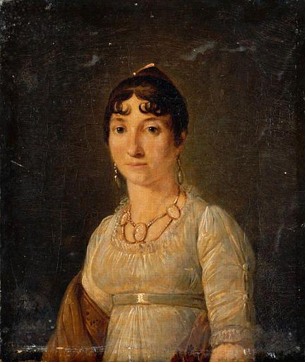 Jean-François Sablet, Portrait de femme, 19th century, 1st quarter
