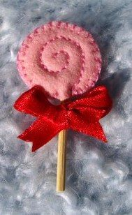 Felt Lollipop