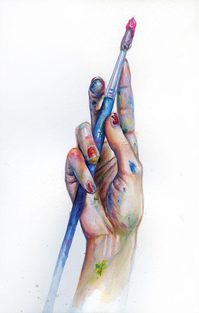 Image of Painter's Hand | Tanya Shatseva