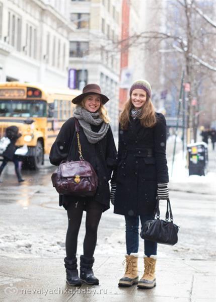 Удобная зимняя обувь для бременных