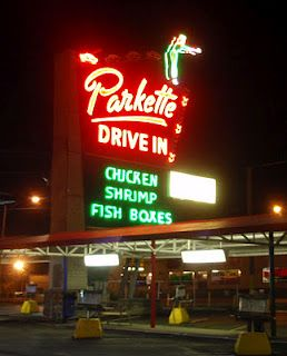 Parkette Drive In, Lexington, KY - This location was featured on Diners, Drive Ins & Dives. #TripleD