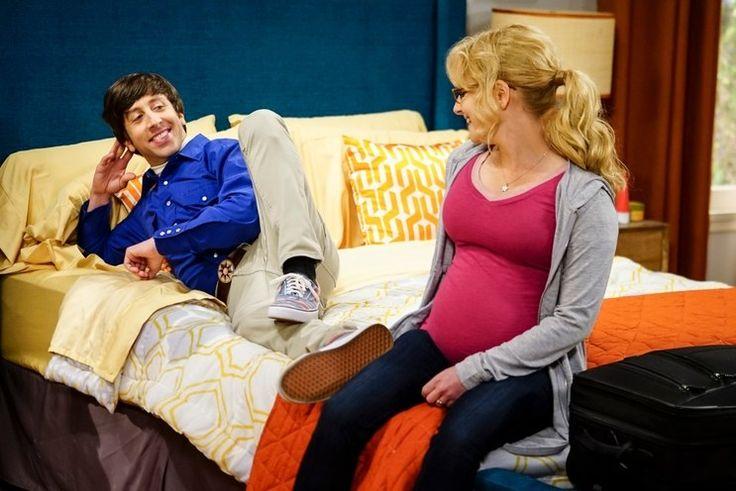 The Big Bang Theory, series 10, Melissa Rauch (Bernadette) pregnant bump #Moonbump