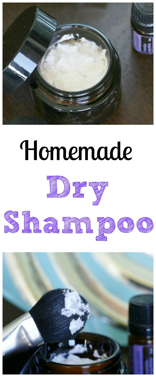 Homemade Dry Shampoo – Simple and Natural