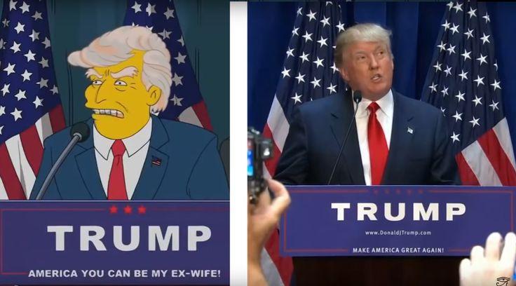 Os Simpsons' preveem vitória de Trump há 16 anos veja o vídeo, Nesta quarta-feira, 9, Donald Trump foi consagrado o novo presidente dos Estados Unidos