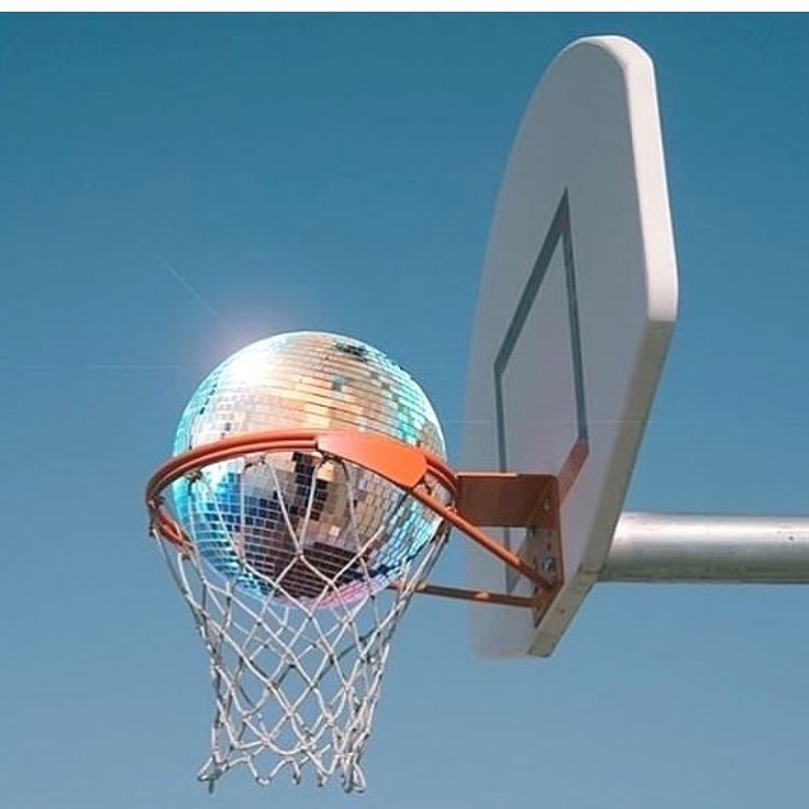 Korb Dosko Ball NBA Playoff Finale Basketball Kunst Contemporary Art Disc …   – dunk