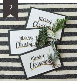 クリスマス メッセージカード