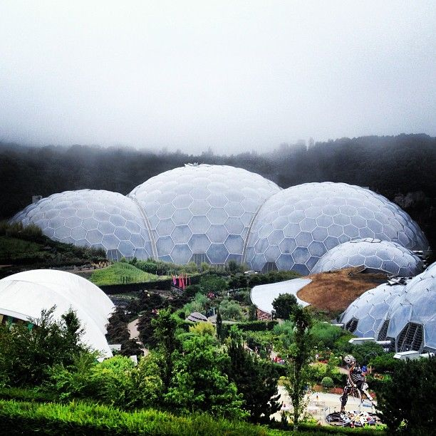 The most impressive tropical green house you can ever imagine. Like exploring a new planet. An absolute must see. Very kids friendly too. More info: Cornwall - Eden Project More info: http://teatimeinwonderland.co.uk/lang/en/2014/04/19/cornwall-eden-project