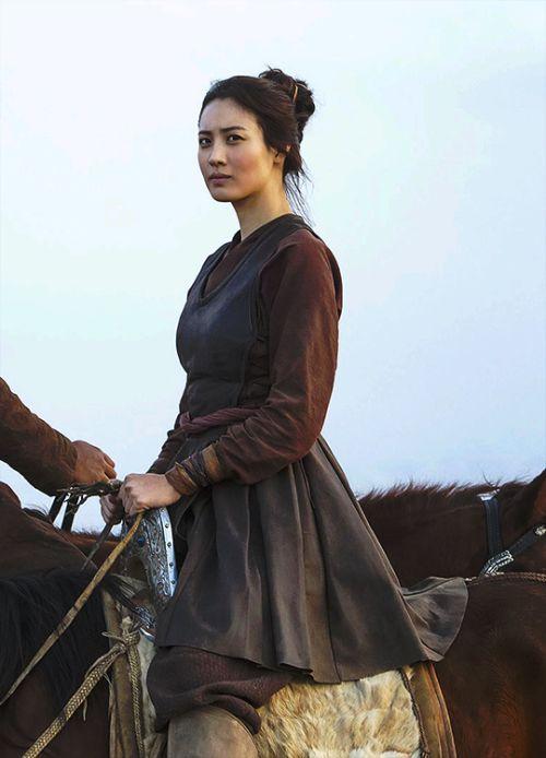 Khutulun - Claudia Kim in Marco Polo Season 1 (TV series). She is literally so pretty wtf