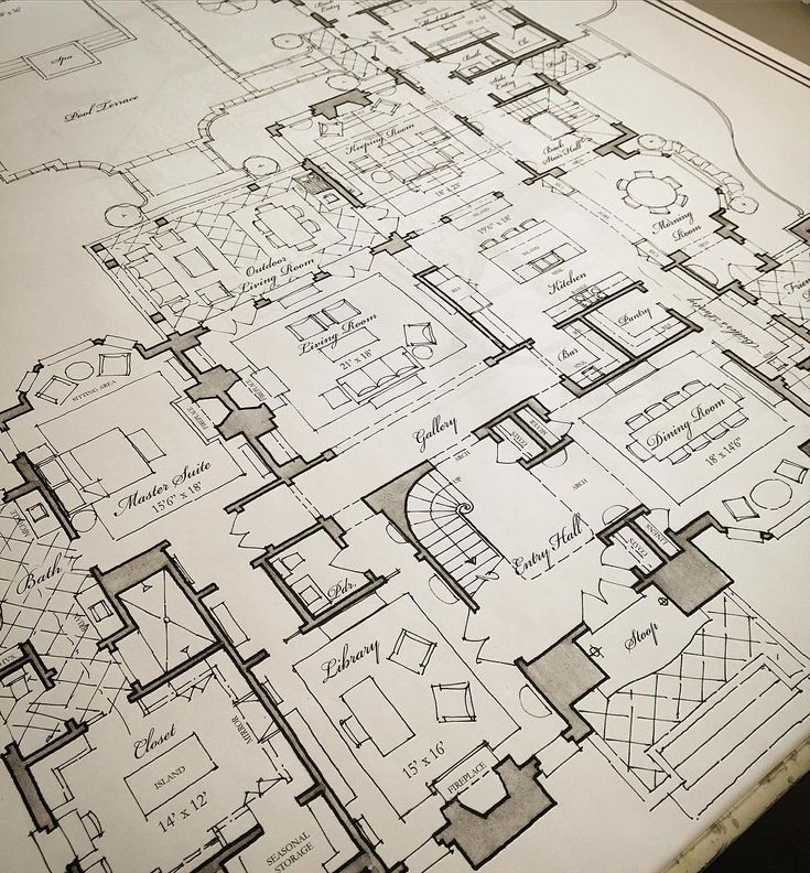 Sweeping floorplan concepts for a new Atlanta