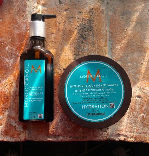 Уход за сухими жесткими волосами с Moroccanoil