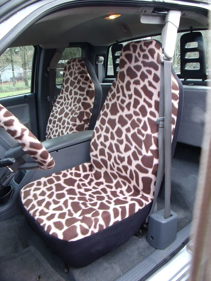 1 Set of Giraffe Print 3 Car Seat Covers and 1 by ChaiLinSews, $65.00