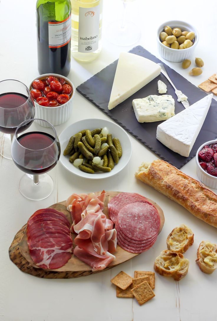 From Baker By Nature: How to make an easy and delicious Summertime Cheese & Charcuterie Spread! Perfect for light dinners, picnics in the park, or parties on the deck!