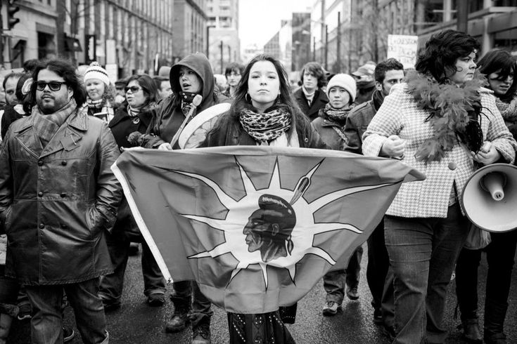 """Natasha Kanape Fontaine - INNU POET """"the discourse of indigenous woman who comes back to life to reverse history."""""""