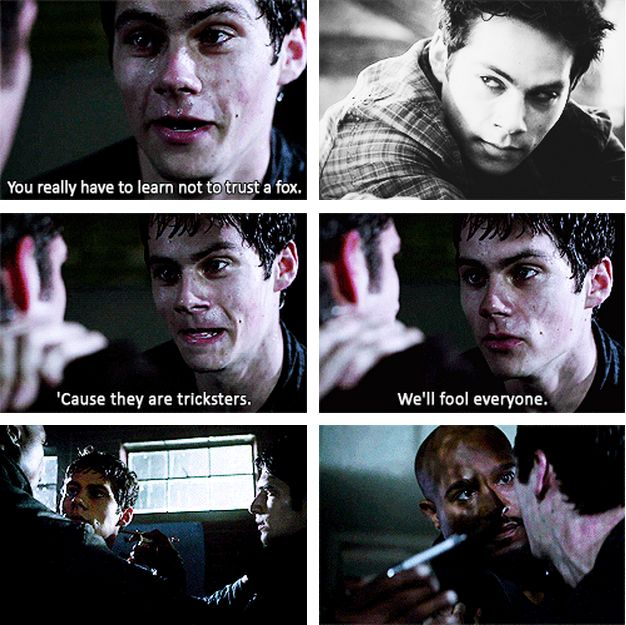 This season is definitely the best so far...just the fact that we get to see more of stiles and Dylan O'Brians acting, the way that he can literally transform himself to change his character completely just shows how gifted he is.  Teen Wolf season 3b - Stiles/Nogitsune