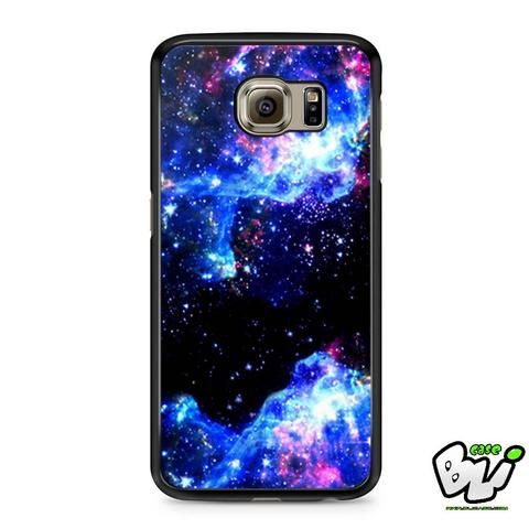 Blue Galaxy Nebula Samsung Galaxy S7 Case