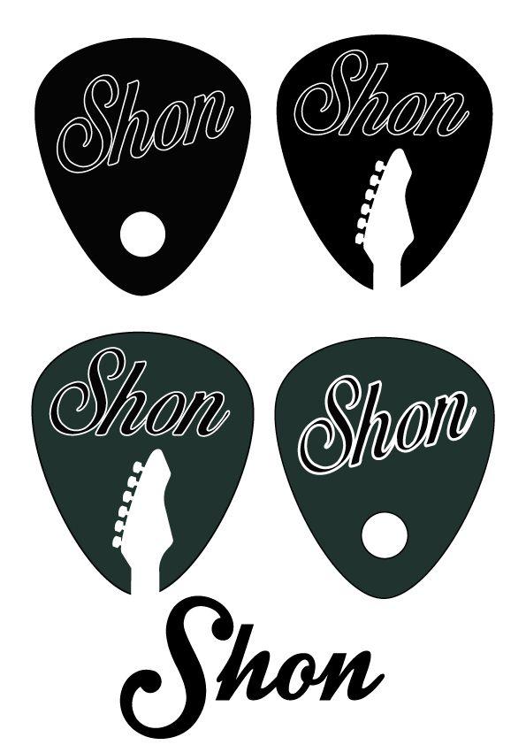 Uñetas - personalizadas Shon - El Bloque 8 - Guitarra