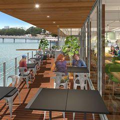 福岡市・大濠公園内に新複合施設「ボートハウス 大濠パーク」カフェ、レストランなどの写真2