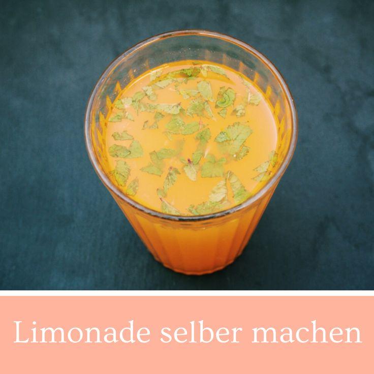 Limonade selber machen, Selbstgemachte Limonade