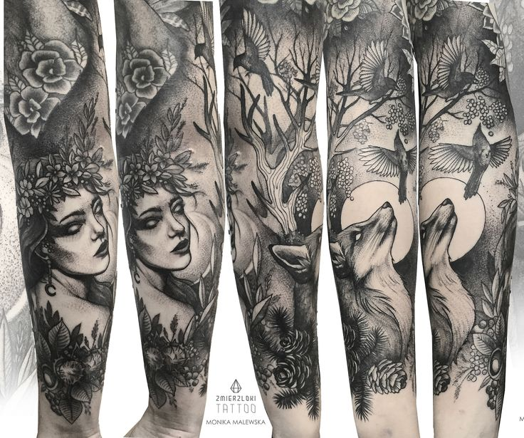 Mother Nature sleeve.