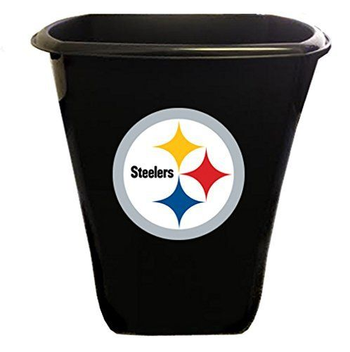 4280e37f4d7 Pittsburgh Steelers Trash Can