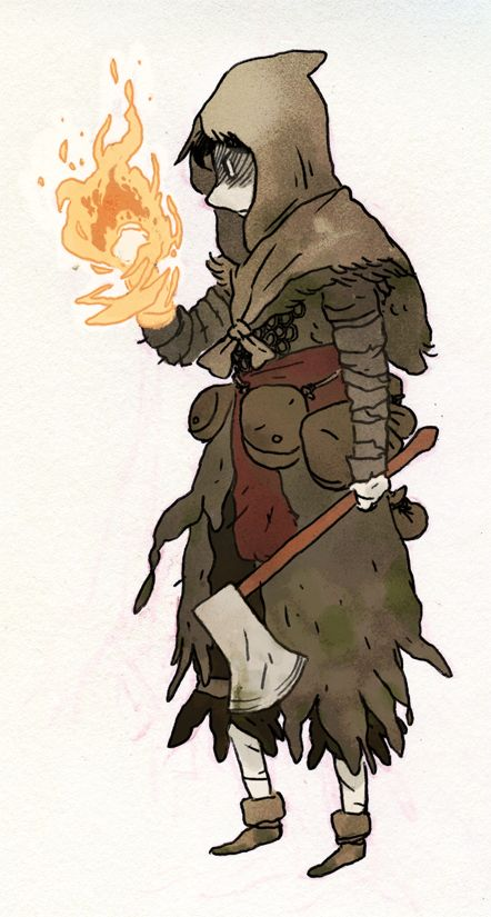 Dark Souls Character Design Process : Working to develop dewin culture this is not what they