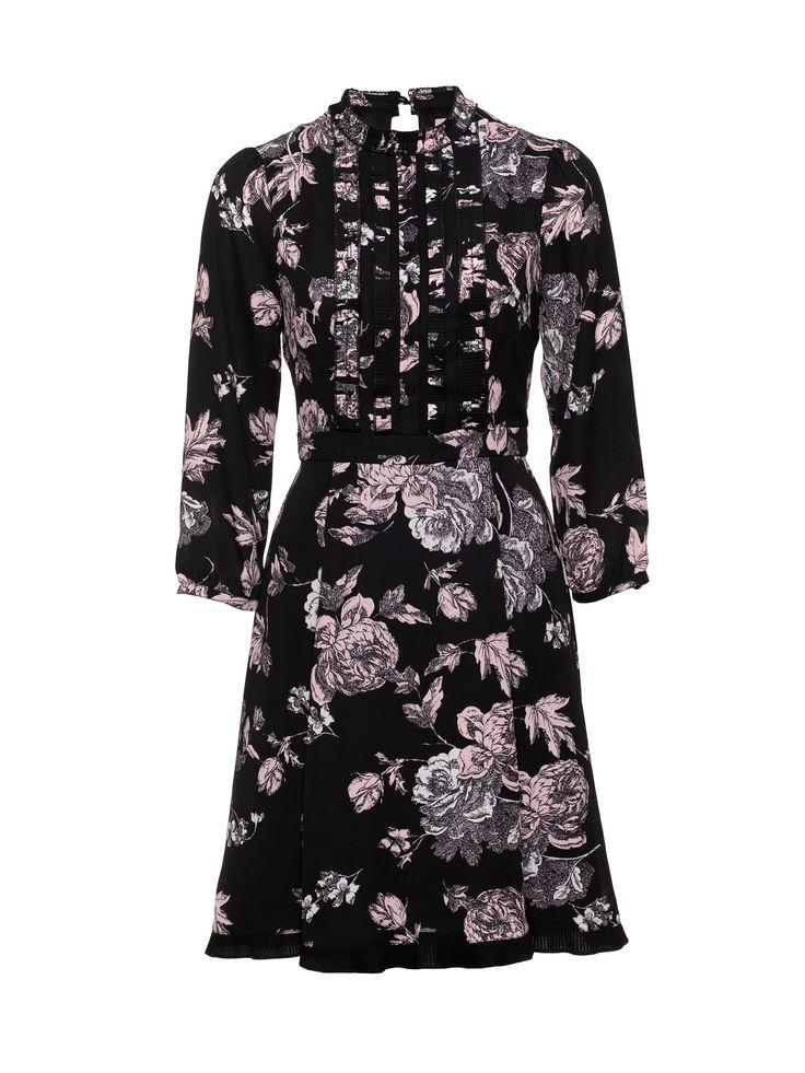 Florenta Dress | Black and Cream | Dresses