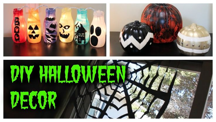 DIY HALLOWEEN DECOR IDEAS (Pinspiration) - HowToByJordan