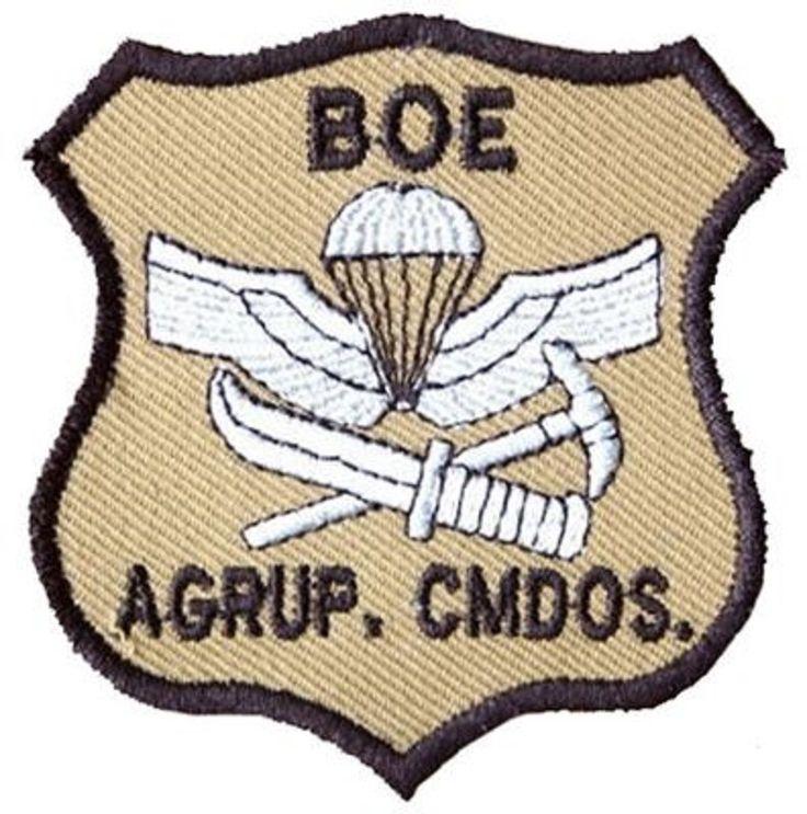 Boe. Agrupación de comandos