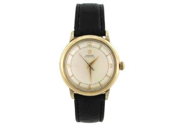 14k GF 1960s Omega Automatic Watch