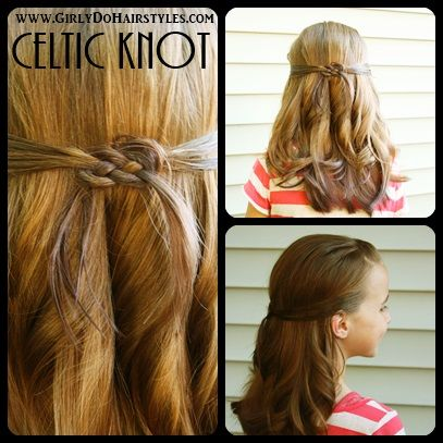 long celtic hairstyle | Girly Do Hairstyles: By Jenn: Celtic Knot