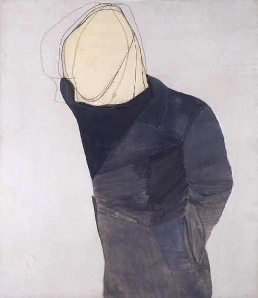 Suicide, 1975 by Luc Tuymans. New European Painting. symbolic painting