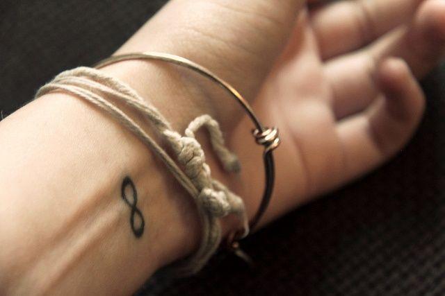 Infinity Wrist Tattoo