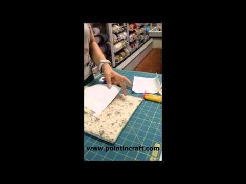 Impara con me la tecnica Appliquè, per realizzare fantastici disegni sulle tue stoffe! #pointincraft #applique #pointincrea