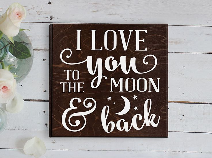 Love You To The Moon And Back Wall Art 243 best i love you to the moon and back ♡ images on pinterest