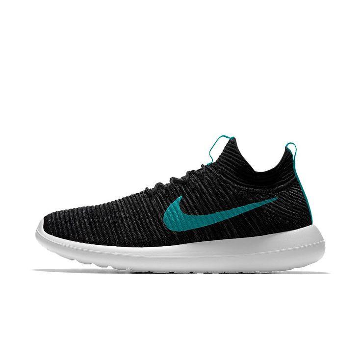 Nike Roshe Two Flyknit iD Men's Shoe Size 11.5 (Black)