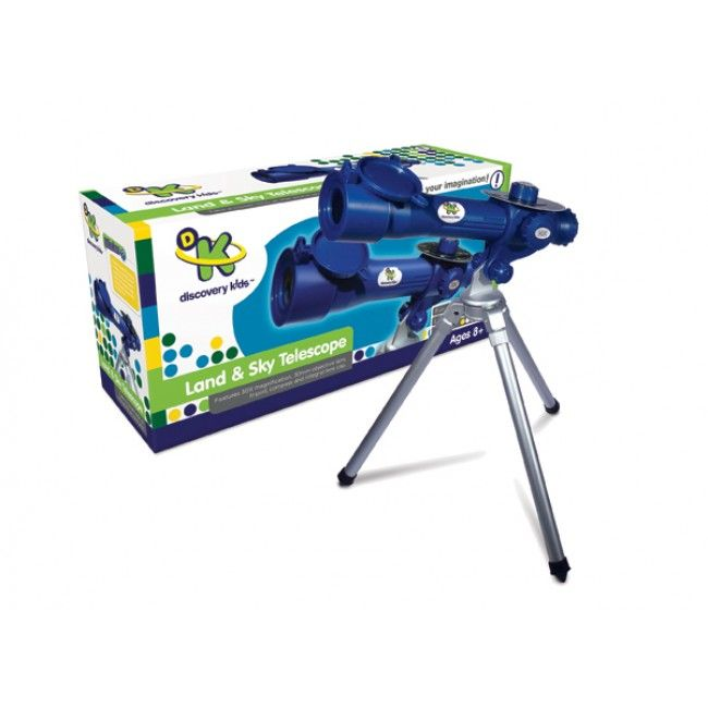 Discover the world around you really up close - with 30X magnification, this telescope will have you spending hours getting lost in the night sky gazing at the stars. We think Dad would love to share this... hint hint! http://www.entropy.com.au/discovery-kids-land-sky-telescope #entropytoys #fathersdaysgifts #giftsfordad #telescope #science